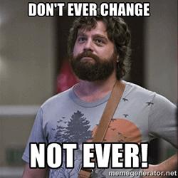 Hij probeert je te veranderen