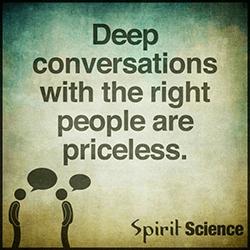 diepe gesprekken
