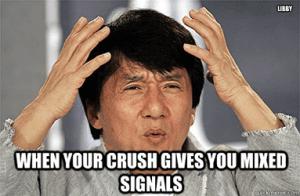 gemengde signalen