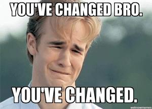 Je-bent-verandert