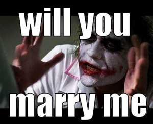 mijn vriend wil niet trouwen