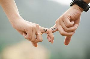 aanraken liefdesverdriet