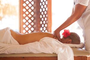 Massage-vrouw