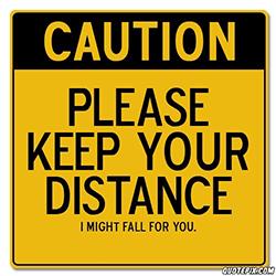 hoe afstand