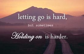 moeite met loslaten relatie