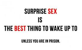 onverwachte seks