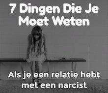 7 dingen die je moet weten als je een relatie hebt met een narcist