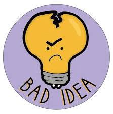 slecht idee
