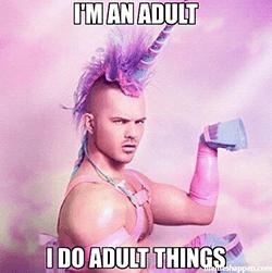 volwassen man