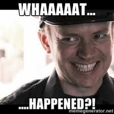 wat is er gebeurd