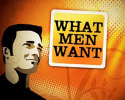 wat mannen willen