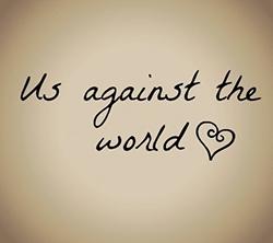 wij tegen de wereld