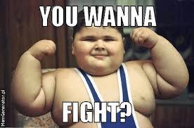 wil je vechten
