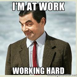 hard werken