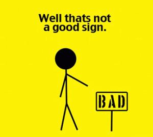 slecht signaal