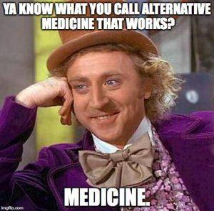 Hoe noem je een alternatief of homeopathisch medicijn dat werkt? Medicijnen