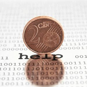 Vraag een derde partij om hulp bij schulden of geld / financiële problemen