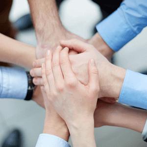Het is belangrijk voor een goede steungroep te zorgen