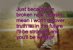 kom er sterker uit