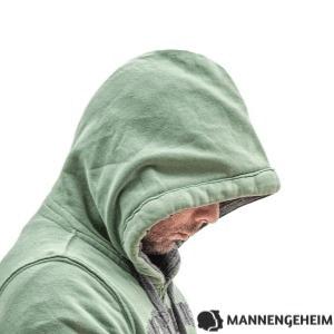 Een geïsoleerde of depressieve man