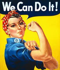 Girl power vrouwen kunnen het