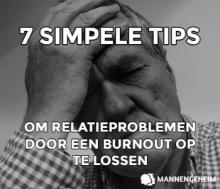 relatieproblemen door een burn-out oplossen