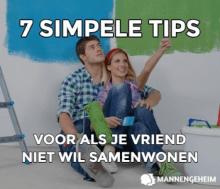 7 tips voor als je vriend niet wil samenwonen