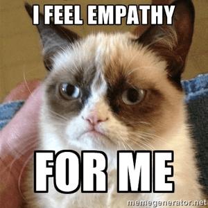 Een narcist heeft geen empathie