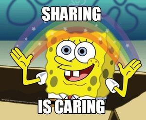Delen sharing in een relatie