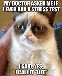 Het leven is een stress test