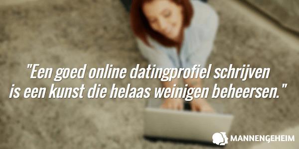 Een goed online datingprofiel schrijven is een kunst die helaas weinigen beheersen