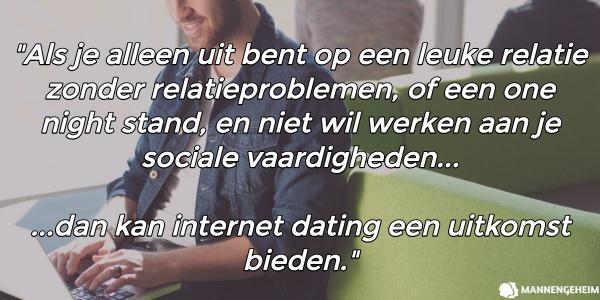 op zoek naar een man via internet