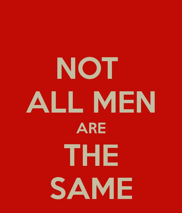 Niet alle mannen zijn zo