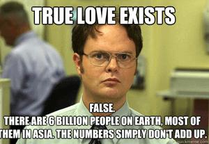Ware liefde is altijd binnen bereik mythe