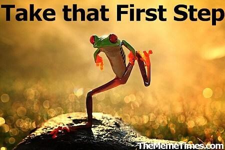 eerste-stap-nemen