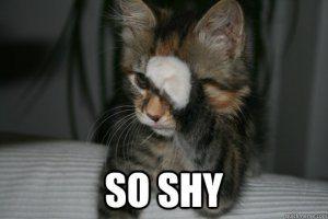 so shy