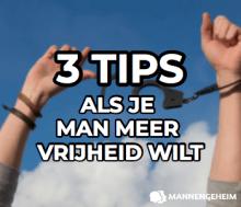 3 tips als je man meer vrijheid wilt