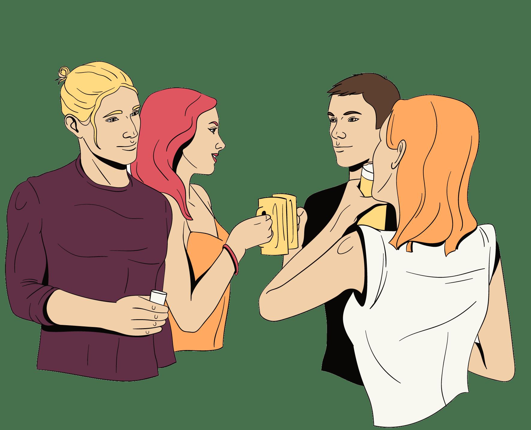 alcohol kan de kans op vreemdgaan verhogen