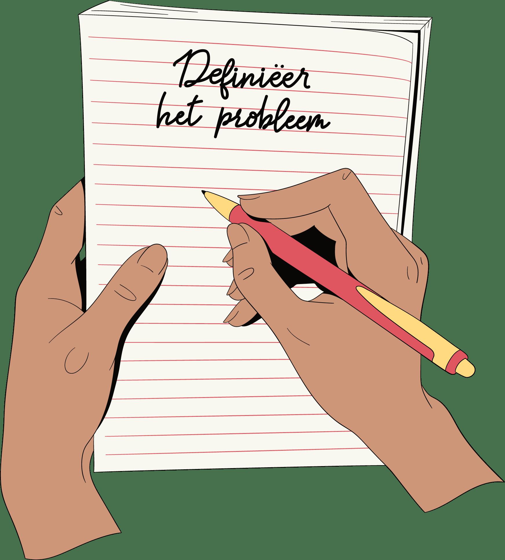 Definieer het probleem van de breakup
