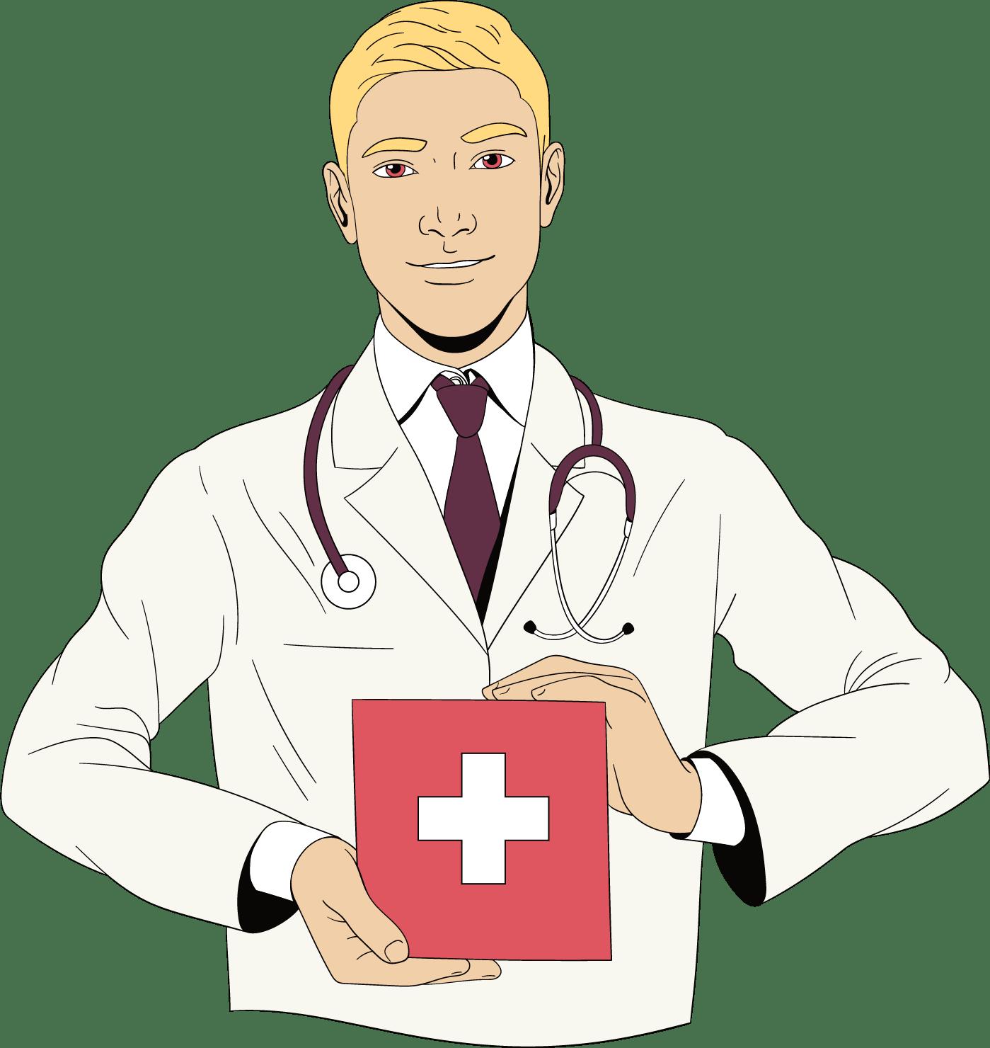 Eerste hulp kit met vragen